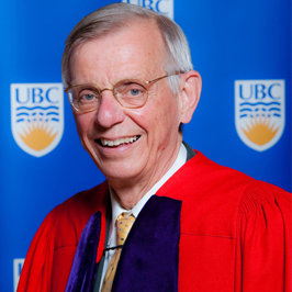 Congratulations to Dr. James C Hogg on being appointed to the Order of British Columbia!