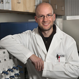 Dr. Christian Steidl, Excellence in Basic Science Research