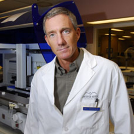 Dr. Ian Mackenzie was this year's plenary speaker at the XVIII International Congress of Neuropathology