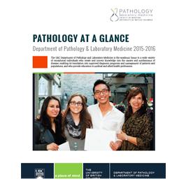 Pathology at a Glance 2015/16