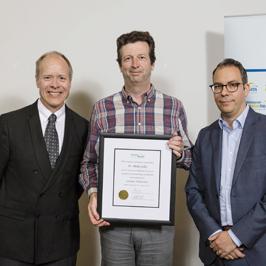 Dr. Blake Gilks  for receiving the 2016 Scientific Achievement Award