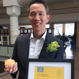 Congratulations to Dr. Victor Leung, Dr. Christopher Lowe, Dr. Sylvie Champagne and Dr. Marc Romney who have been awarded 'The Top Innovation – Affiliate Gold Apple