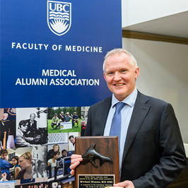 Congratulations to Dr. Nimmo, one of the 2019 Wallace Wilson Leadership Award Recipient